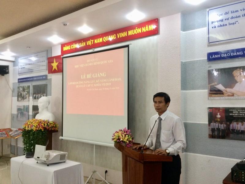 Bế giảng Lớp bồi dưỡng cấp Vu khoa II - 2018 _ 4