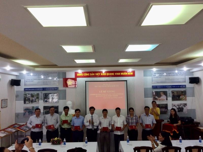 Bế giảng Lớp bồi dưỡng cấp Vu khoa II - 2018 _ 5