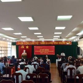 Bế giảng Lớp bồi dưỡng ngạch Chuyên viên Cao cấp khóa VI năm 2018 _ 1
