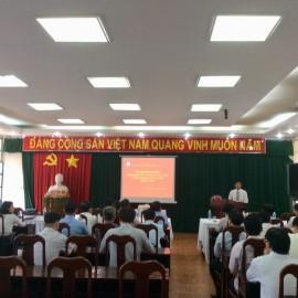 Khai giảng Lớp bồi dưỡng cấp Sở khóa V - 2018 _ 1