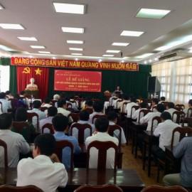 Bế giảng Lớp bồi dưỡng ngạch Chuyên viên Cao cấp khóa X năm 2018 _ 1