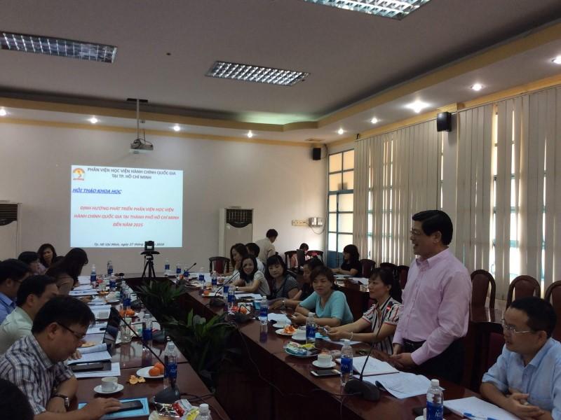 Hội thảo khoa học Định hướng phát triển Phân viện HVHCQG  _ 5