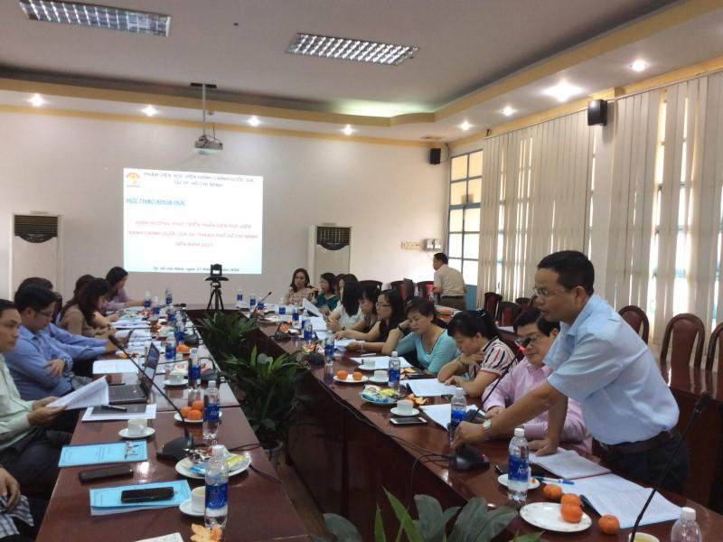 Hội thảo khoa học Định hướng phát triển Phân viện HVHCQG  _ 6