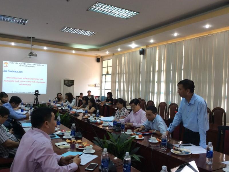 Hội thảo khoa học Định hướng phát triển Phân viện HVHCQG  _ 7