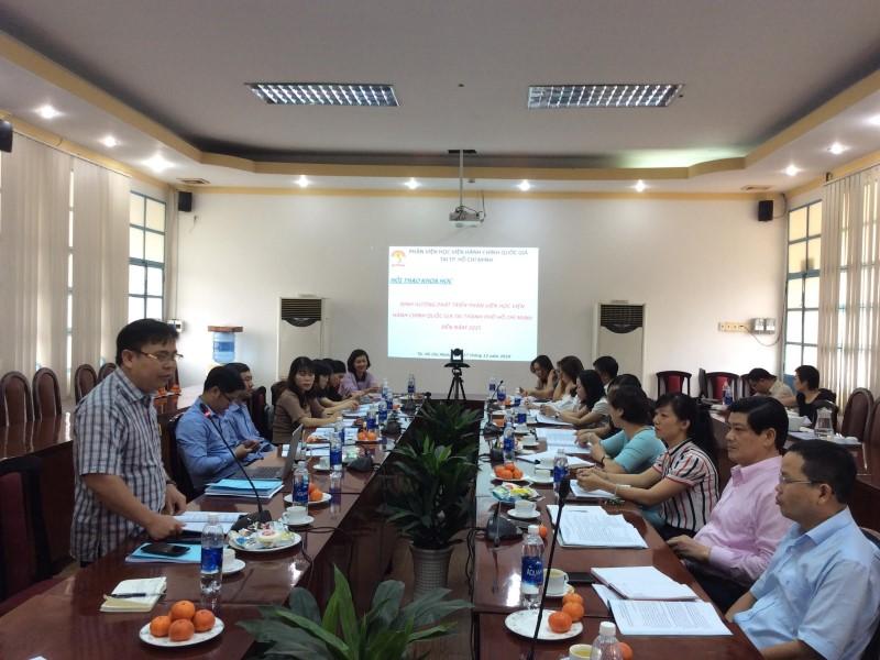 Hội thảo khoa học Định hướng phát triển Phân viện HVHCQG  _ 8