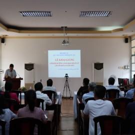Khai giảng Lớp bồi dưỡng cap Sở II 2019 _ 1