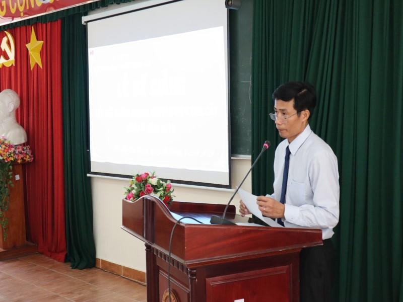 Bế giảng Lớp bồi dưỡng ngạch Chuyên viên Cao cấp khóa II năm 2019 _ 6