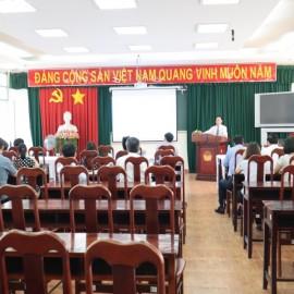 Khai giảng Lớp bồi dưỡng lãnh đạo quản lý cấp Phòng khóa I _ 1