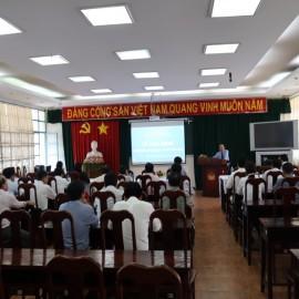 Khai giảng Lớp bồi dưỡng lãnh đạo, quản lý cấp Sở và tương tương _ 1
