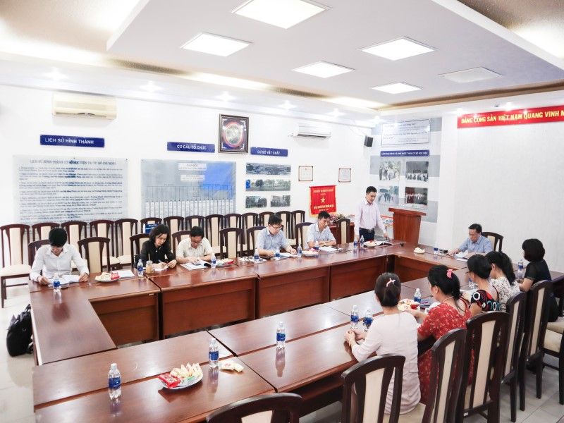 Tổ chức các Tọa đàm khoa học về nâng cao chất lượng đề tài NCKH và công tác ĐTBD _ 1