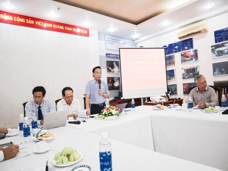 Tổ chức các Tọa đàm khoa học về nâng cao chất lượng đề tài NCKH và công tác ĐTBD _ 10