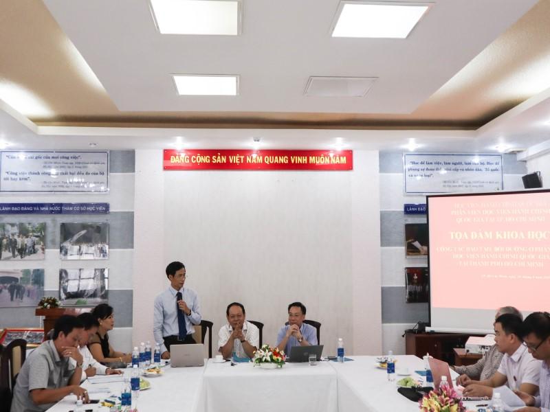 Tổ chức các Tọa đàm khoa học về nâng cao chất lượng đề tài NCKH và công tác ĐTBD _ 11