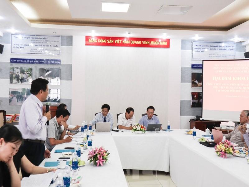 Tổ chức các Tọa đàm khoa học về nâng cao chất lượng đề tài NCKH và công tác ĐTBD _ 13