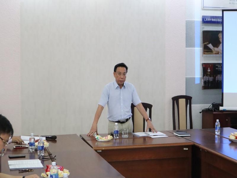 Tổ chức các Tọa đàm khoa học về nâng cao chất lượng đề tài NCKH và công tác ĐTBD _ 16