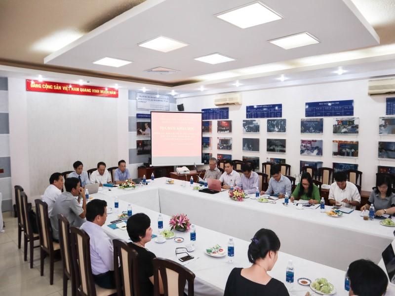 Tổ chức các Tọa đàm khoa học về nâng cao chất lượng đề tài NCKH và công tác ĐTBD _ 2