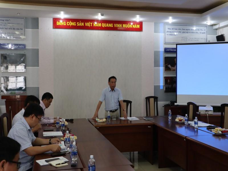 Tổ chức các Tọa đàm khoa học về nâng cao chất lượng đề tài NCKH và công tác ĐTBD _ 4