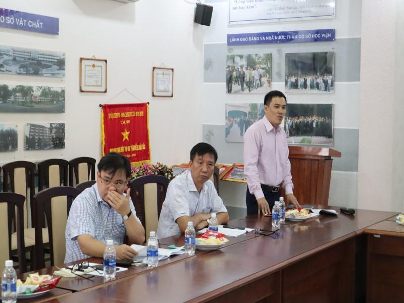 Tổ chức các Tọa đàm khoa học về nâng cao chất lượng đề tài NCKH và công tác ĐTBD _ 5