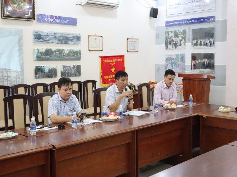 Tổ chức các Tọa đàm khoa học về nâng cao chất lượng đề tài NCKH và công tác ĐTBD _ 9
