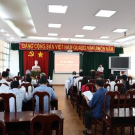 Bế giảng các Lớp bồi dưỡng 2019 _ 1