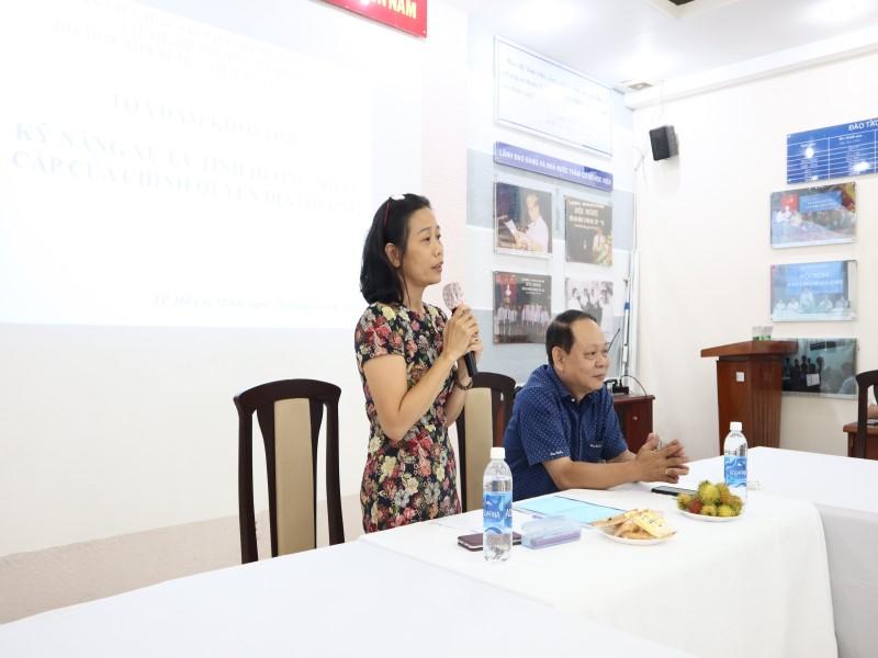 Hội thảo và Tọa đàm năm 2019 _ 11