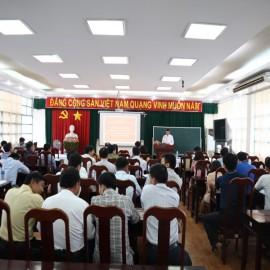 Khai giảng Lớp bồi dưỡng kiến thức lớp Tôn giáo _ 1