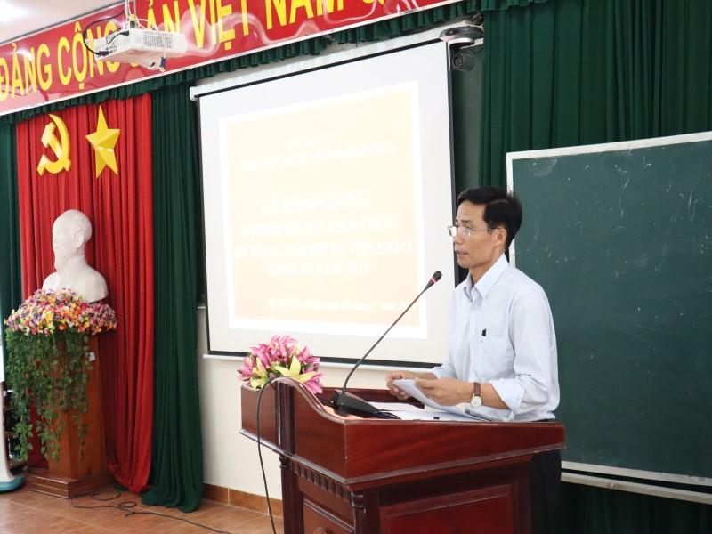 Khai giảng Lớp bồi dưỡng kiến thức lớp Tôn giáo _ 4