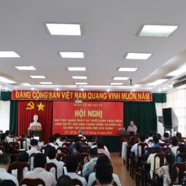 Hội nghị  Nghị quyết Hội nghị Trung ương 10 khóa XII _ 1