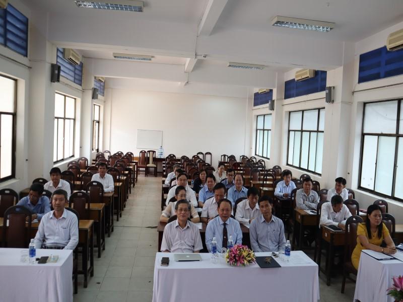 Khai giảng Lớp cấp Sở VIII 2019 _ 2