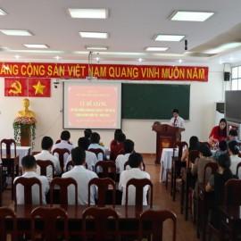 Bế giảng Lớp bồi dưỡng cấp Sở  VIII năm 2019 _ 1