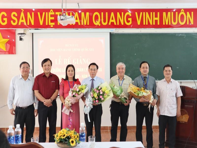 Bế giảng Lớp bồi dưỡng cấp Sở  VIII năm 2019 _ 10
