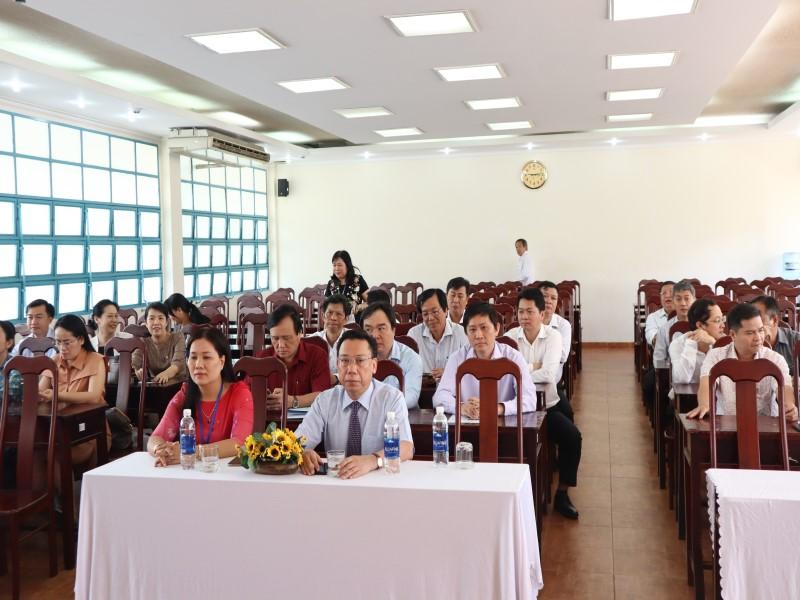 Bế giảng Lớp bồi dưỡng cấp Sở  VIII năm 2019 _ 2