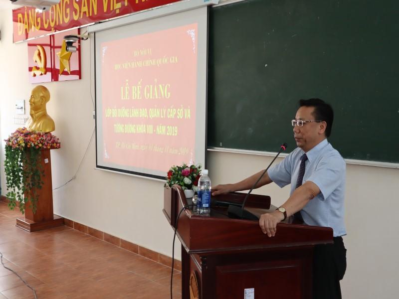 Bế giảng Lớp bồi dưỡng cấp Sở  VIII năm 2019 _ 3