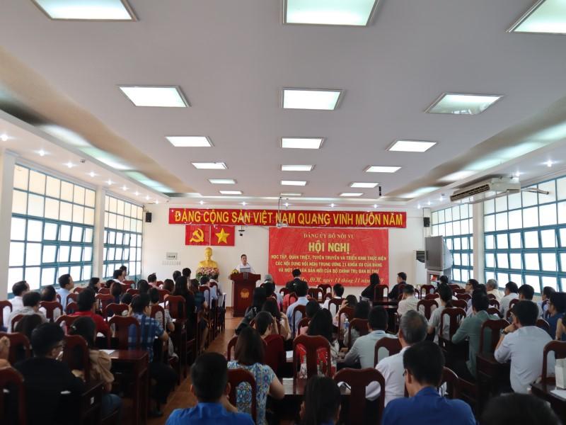 Hội nghị học tập Nghị quyết Hội nghị Trung ương 11 khóa XII _ 1