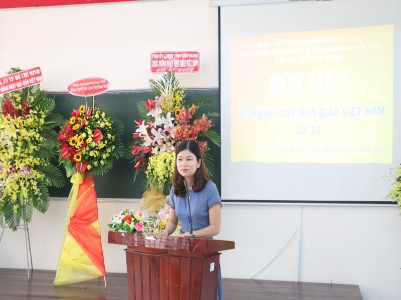 kỷ niệm 37 năm Ngày Nhà giáo Việt Nam 20-11 _ 5