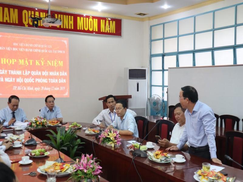 Họp mặt Kỷ niệm 75 năm Ngày thành lập Quân đội Nhân dân Việt Nam và Ngày Hội Quốc phòng Việt Nam _ 5