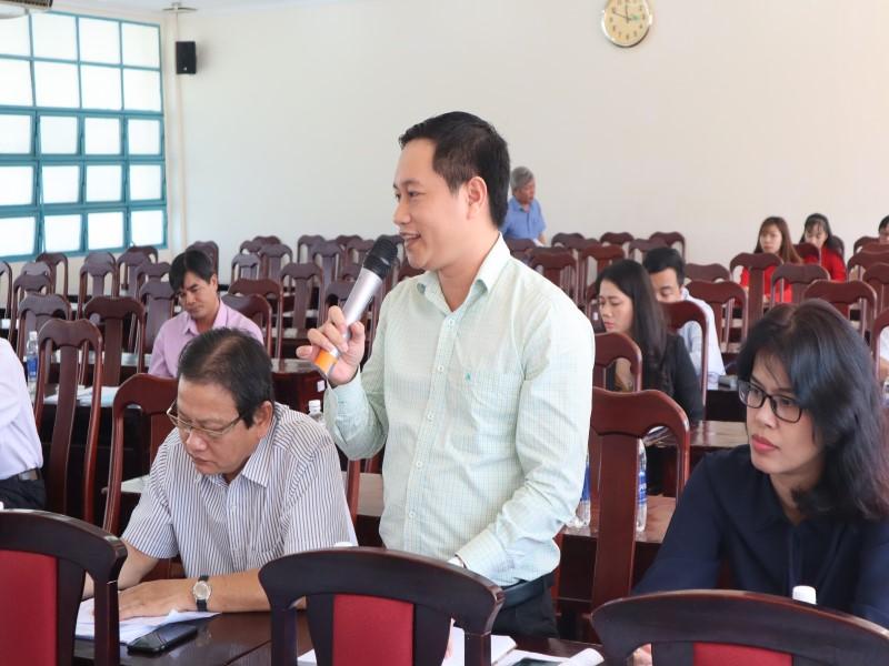 """Hội thảo """"Góp ý đề án thống nhất kiểm định chất lượng đầu vào công chức"""" _ 10"""