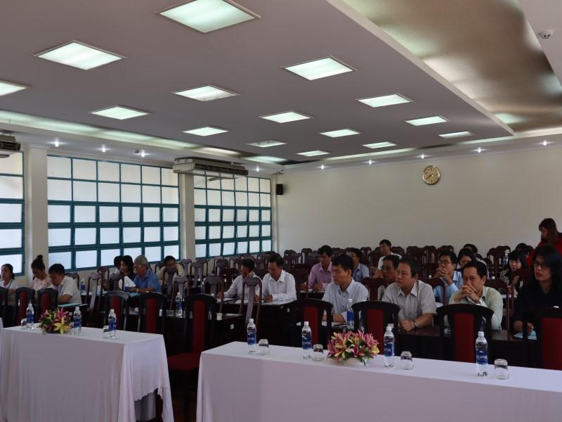 """Hội thảo """"Góp ý đề án thống nhất kiểm định chất lượng đầu vào công chức"""" _ 3"""