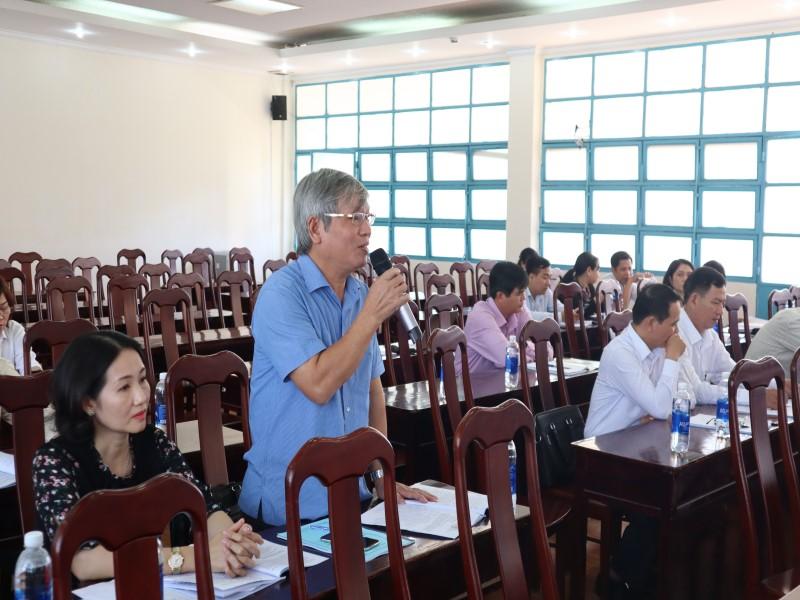 """Hội thảo """"Góp ý đề án thống nhất kiểm định chất lượng đầu vào công chức"""" _ 5"""