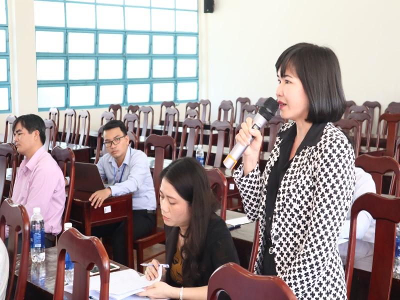 """Hội thảo """"Góp ý đề án thống nhất kiểm định chất lượng đầu vào công chức"""" _ 6"""