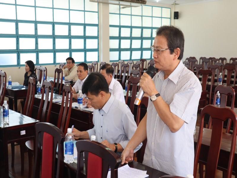 """Hội thảo """"Góp ý đề án thống nhất kiểm định chất lượng đầu vào công chức"""" _ 8"""