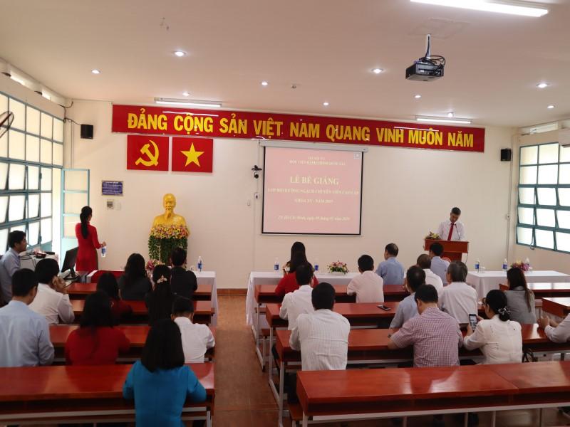 Bế giảng Lớp CVCC khóa XV năm 2019 _ 1