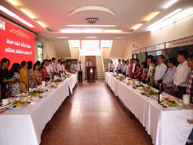 Giám đốc Học viện họp mặt đầu Xuân Canh Tý 2020 _ 2