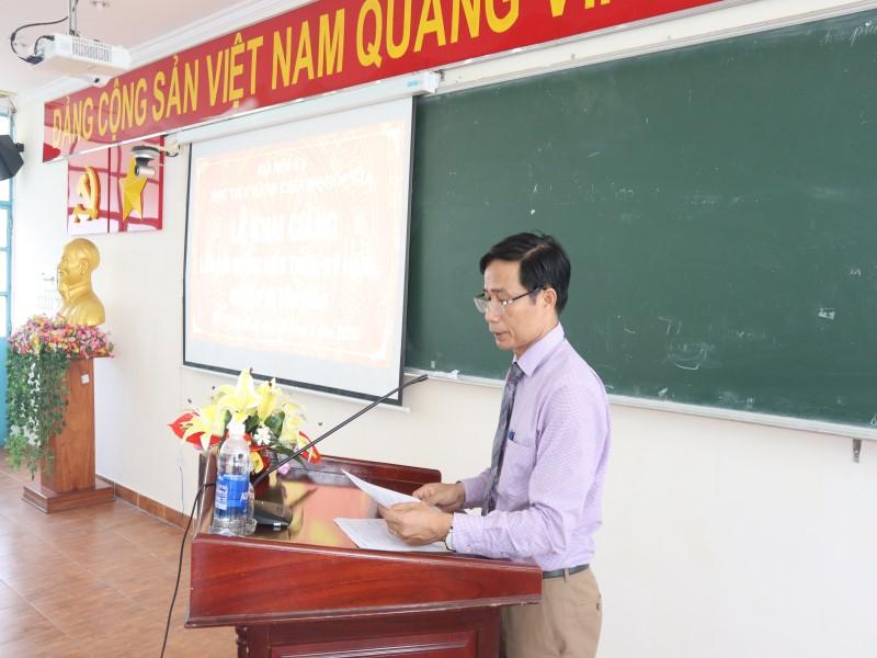 Khai giảng Lớp bồi dưỡng kiến thức, kỹ năng, nghiệp vụ tôn giáo _ 4