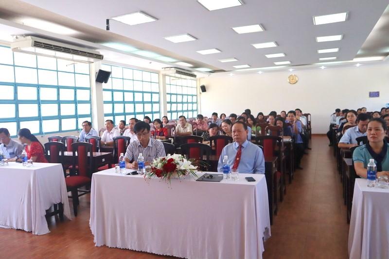 Khai giảng Lớp bồi dưỡng lãnh đạo, quản lý cấp Huyện _ 2