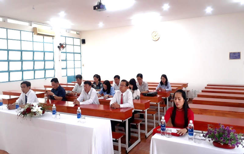 Bế giảng Lớp Bồi dưỡng CVCC _1