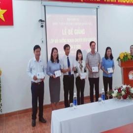 Bế giảng Lớp Bồi dưỡng CVCC _2