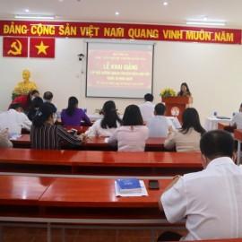 Khai giảng Lớp Bồi dưỡng ngạch chuyên viên cao cấp khóa X _ 1