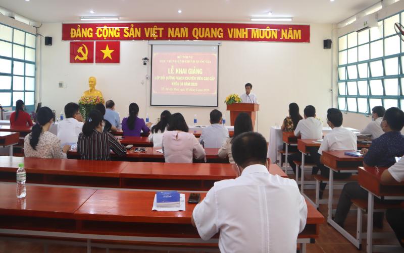 Khai giảng Lớp Bồi dưỡng ngạch chuyên viên cao cấp khóa X _ 4