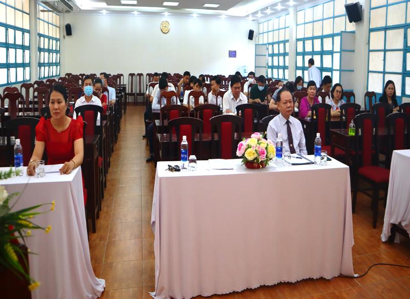 Khai giảng Lớp bồi dưỡng lãnh đạo, quản lý cấp Huyện và tương đương khóa 9 2020 - 2