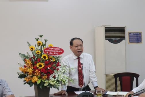 Lễ công bố và trao quyết định nhân sự _ 3